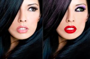 Повседневный макияж и вечерний макияж