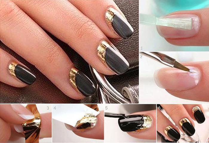 Дизайн ногтей с шеллаком пошаговое