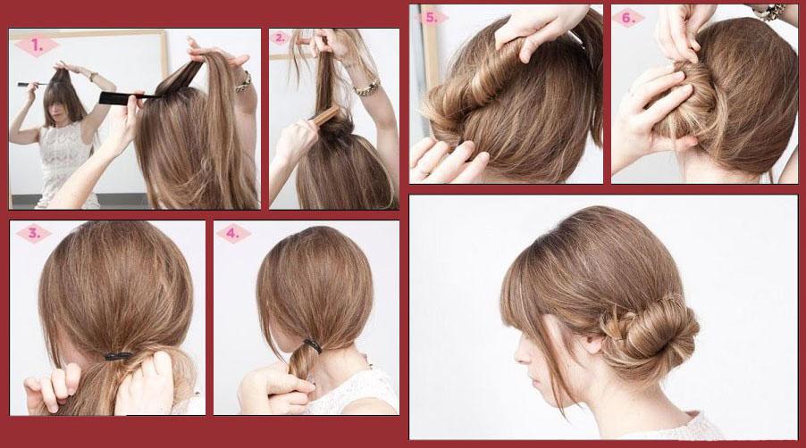 Прически на средние волосы без укладки на каждый день