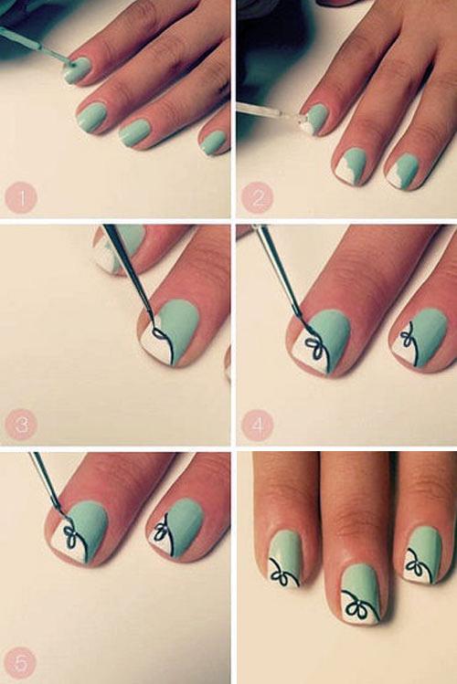 Как быстро сделать маникюр на коротких ногтях в домашних