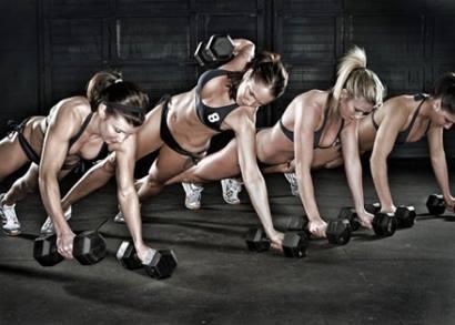 Тренировки вместе с подругами
