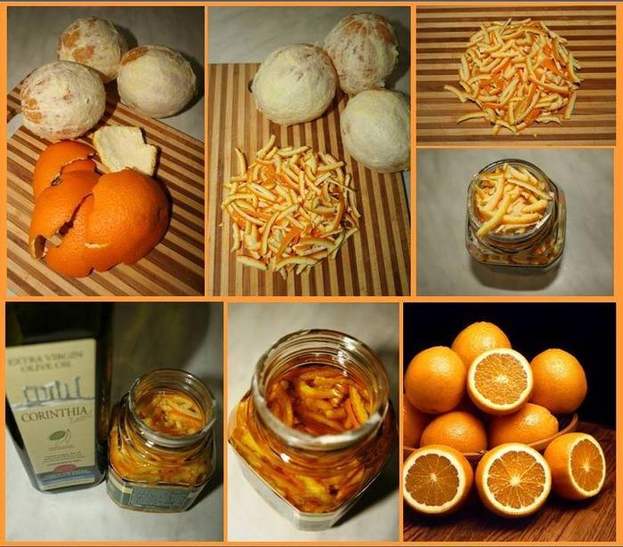 Как сделать домашнее апельсиновое масло?