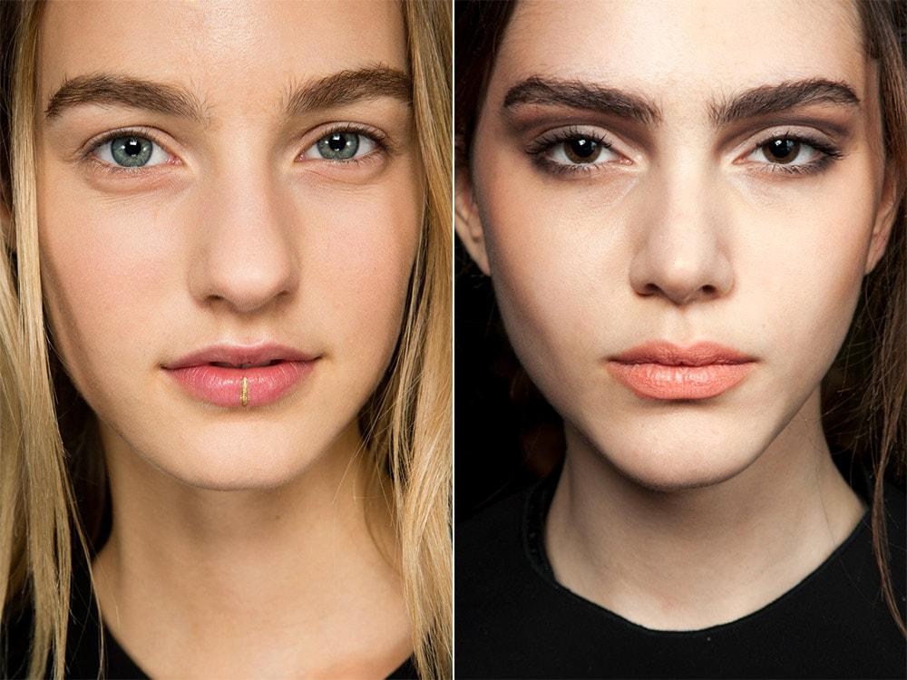 Модный макияж бровей осень-зима 2015-2016