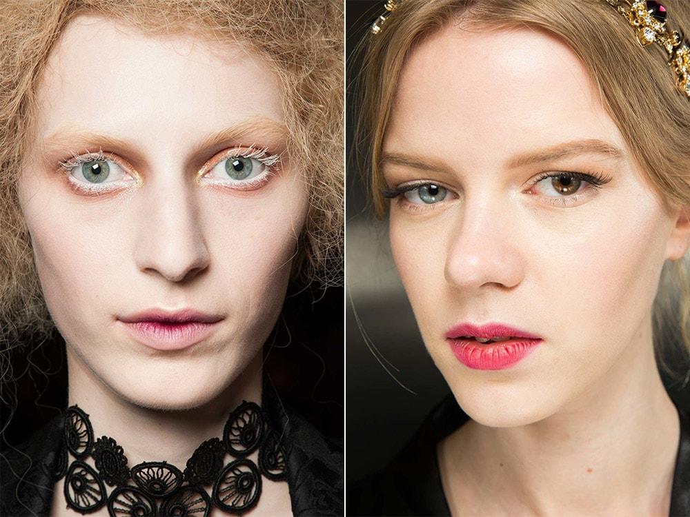 Градиентный макияж губ