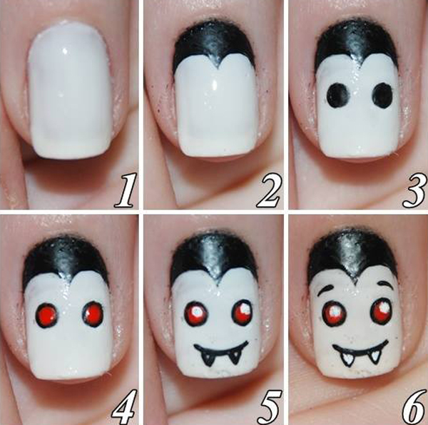 Halloween 2018 Nails Designs For Girls and Kids Archives