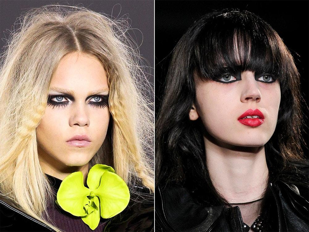 Готический макияж осень-зима 2015-2016