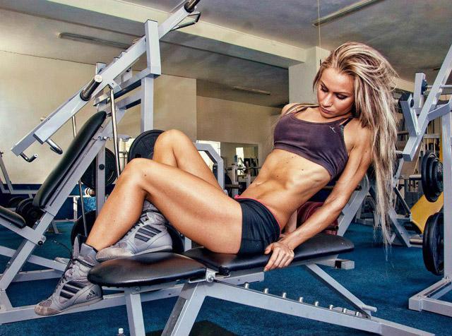Силовые упражнения во время месячных