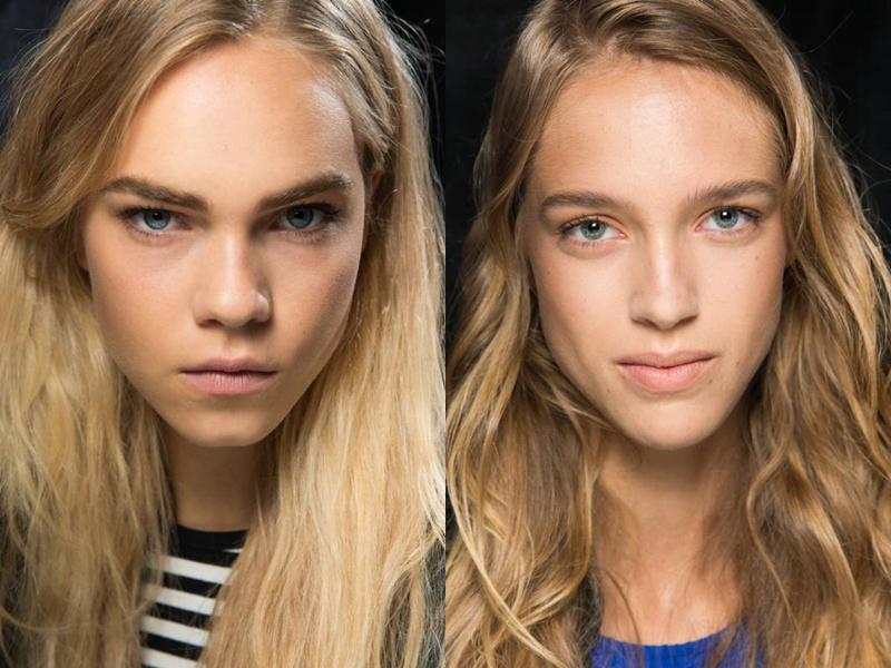 Натуральный макияж весна-лето 2016
