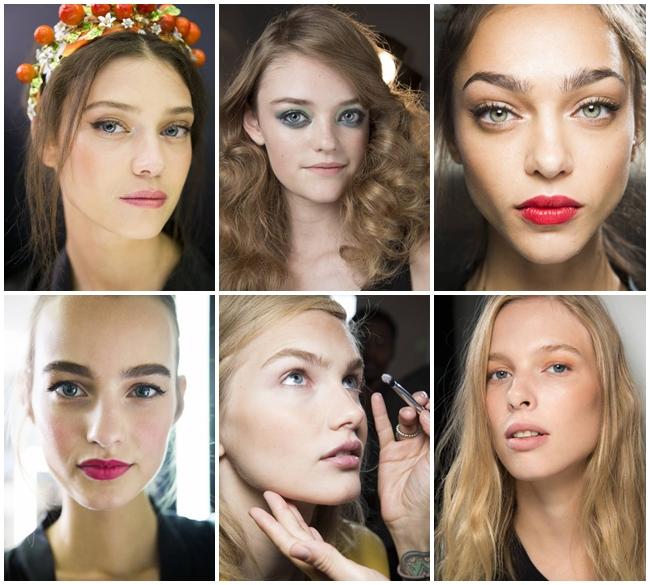 Основные тенденции макияжа весна-лето 2016