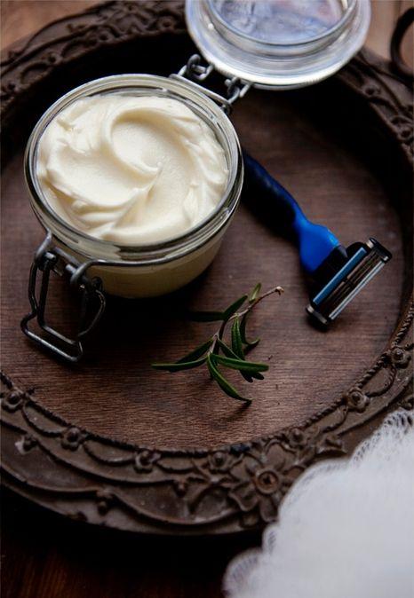 Домашний крем для бритья