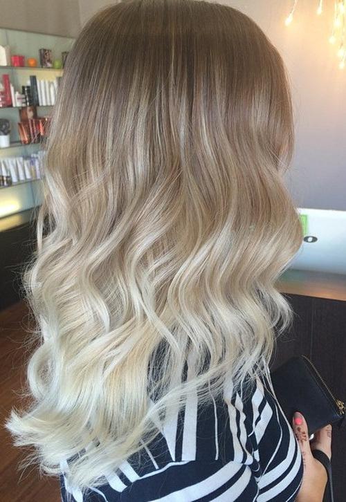 Оттенки светлых волос 2016