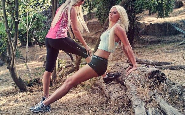 Занимайся спортом с подругой или тренером