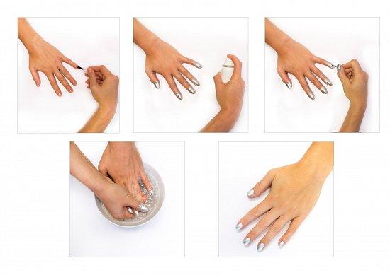 Как использовать аэрозольный лак для ногтей?
