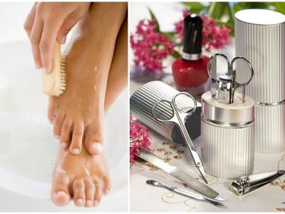 Инструменты для домашнего педикюра