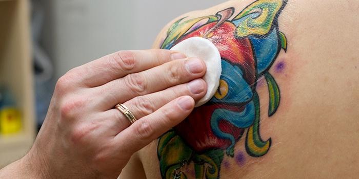 5 правил по уходу за татуировкой