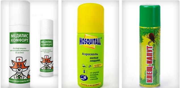 Инсектицидно-репеллентные препараты от клещей