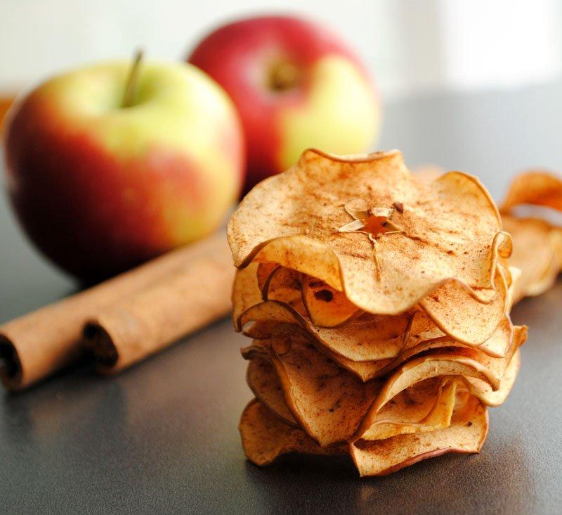 Яблочные чипсы своими руками
