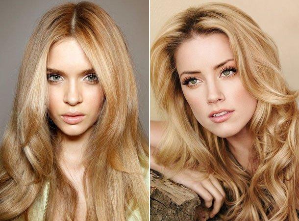Модный оттенок волос Песочный блонд