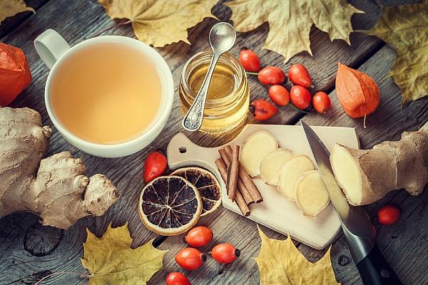 Продукты, которые помогут уберечься от простуды