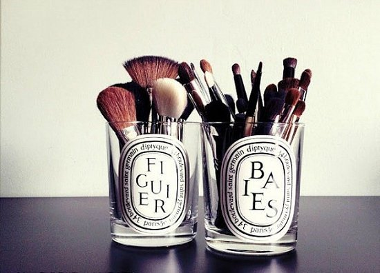 Стаканы для макияжных кистей