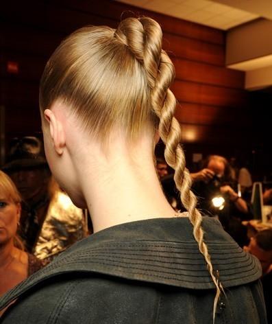 Коса спиралька