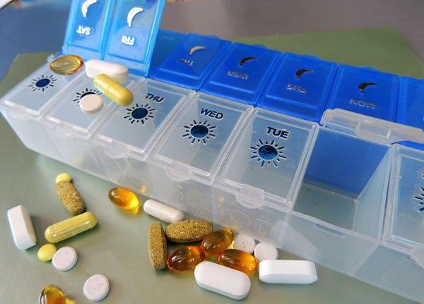 Органайзер для таблеток