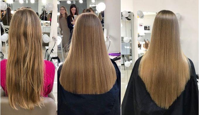 Как подрезать кончики волос