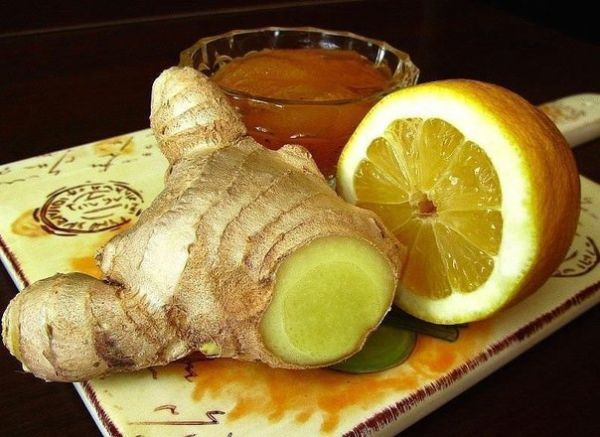 Имбирный чай от простуды и ангины