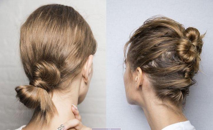 пучок из волос 2019