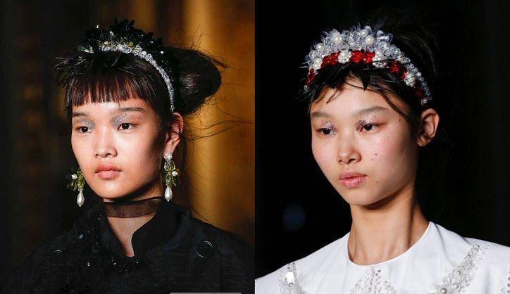 Модные прически с ободком для волос