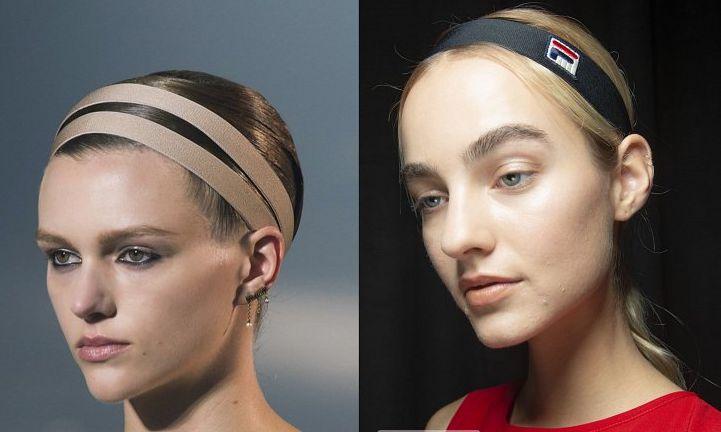 Спортивные ободки для волос