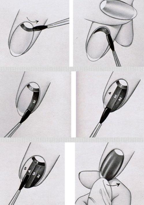 Как сделать лунный маникюр своими руками