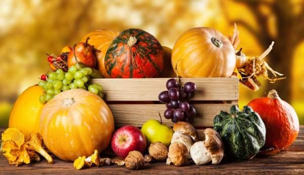 Похудеть осенью просто