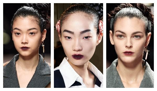 Модный макияж губ 2021