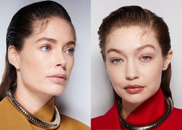 Эффект мокрых волос 2021