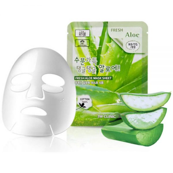 Освежающие маски на тканевой основе