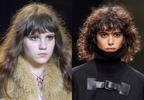 Модные женские челки осень-зима 2020-2021