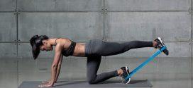 Эффективные упражнения на ягодицы и бедра с фитнес-резинками