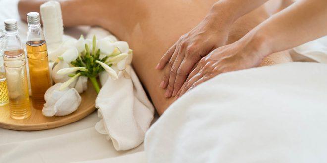 Применение в процессе массажа аромамасел